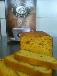 pão de forma maracuja