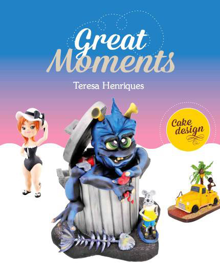 Livro Great Moments Teresa Henriques